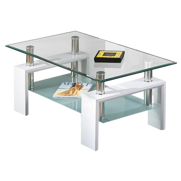 Focus Glass Coffee Table Bliss Living Furniture